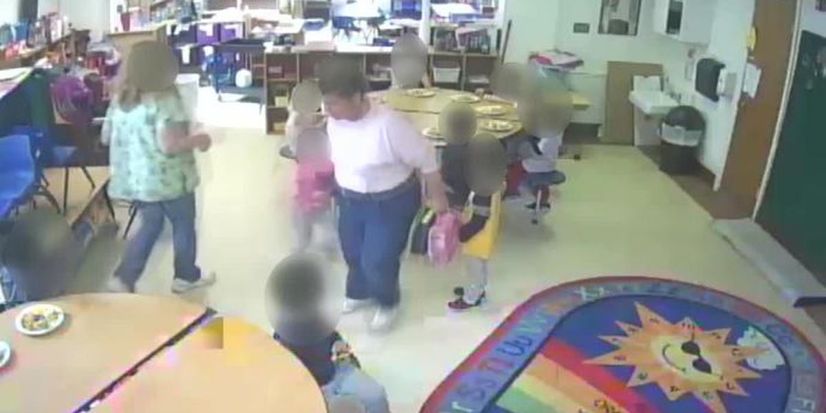 'All I can say is evil': daycare director after watching video showing former employee shouting at and kicking children