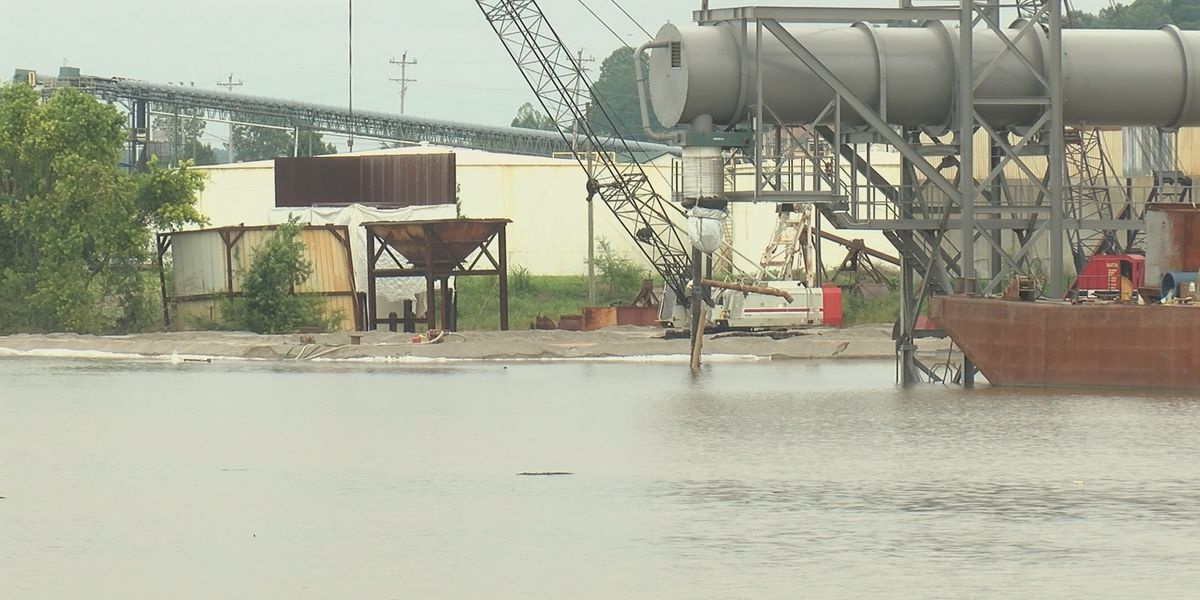 Businesses who depend on the Mississippi River for transport are put on hold due to river levels