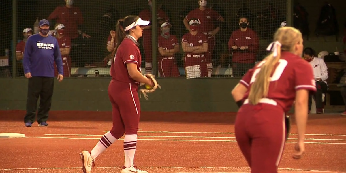 Arkansas ace Mary Haff named SEC Softball Pitcher of the Week
