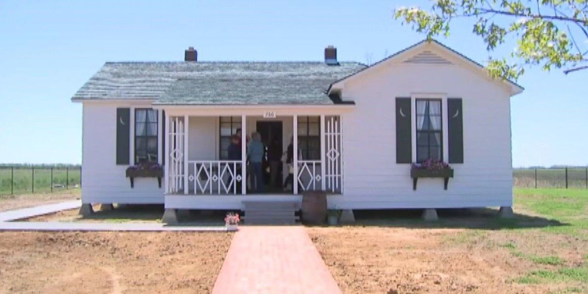Cash Boyhood home added to National Register of Historic Places