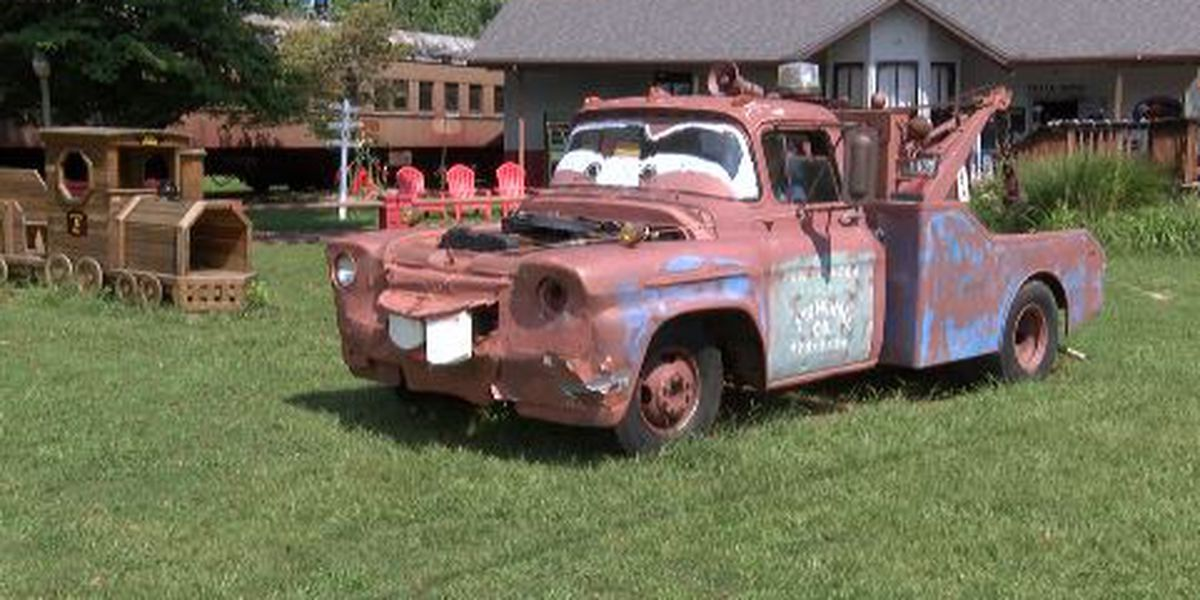 Tow Mater in Jackson to relocate to Australian Disney museum