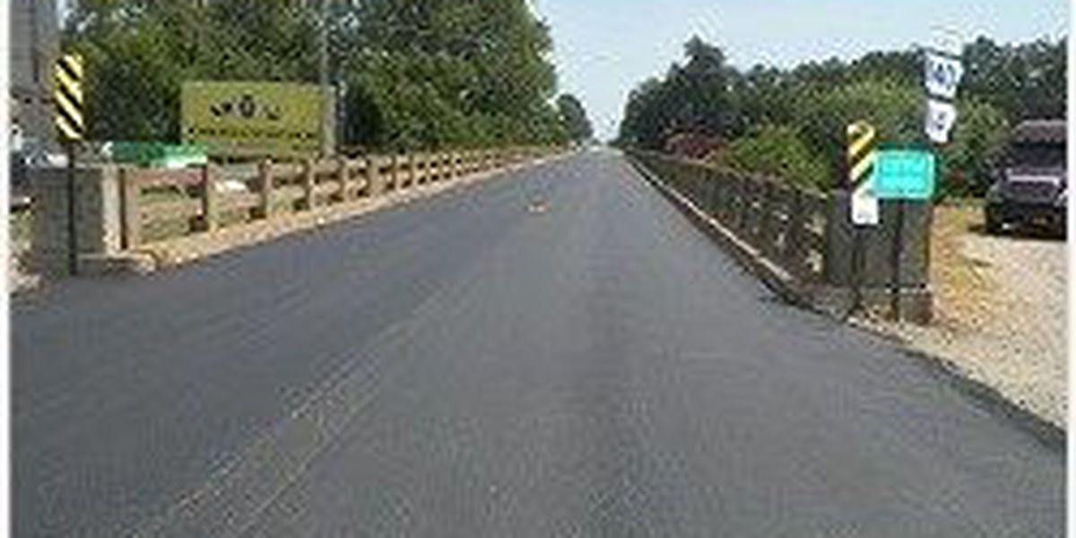 Bridges repaved in Poinsett County town
