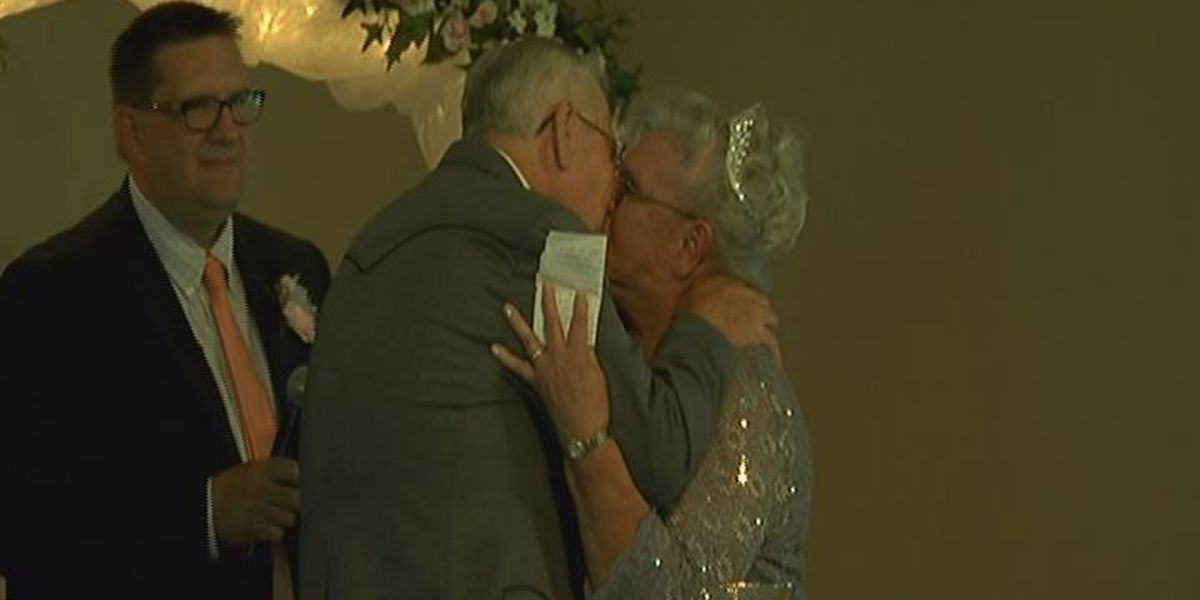 High school sweethearts marry after 63 year separation
