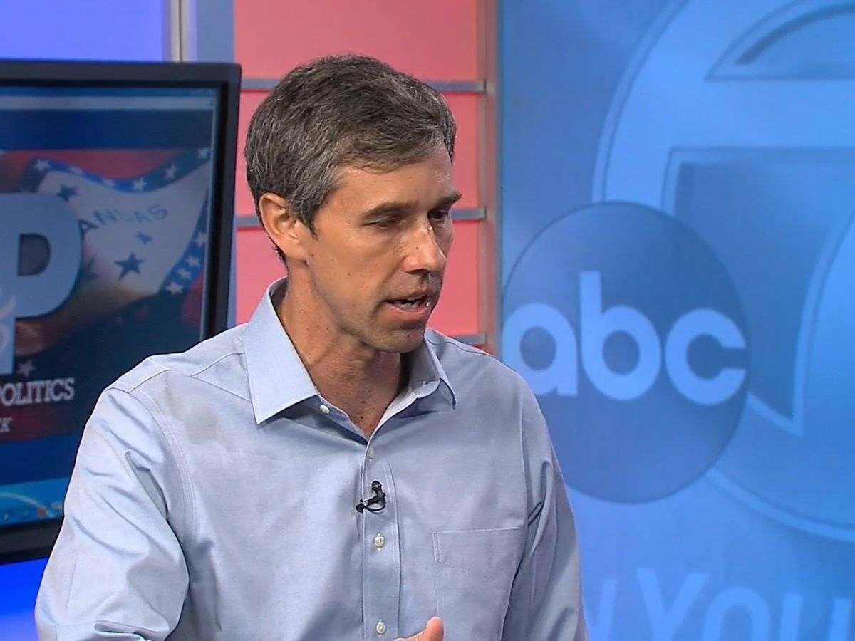 Beto O'Rourke visits Arkansas, discusses gun control, immigration