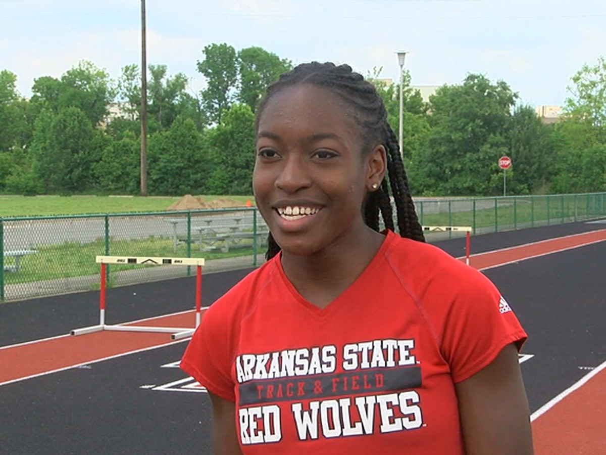 Arkansas State sprinter Caitland Smith named SBC Athlete of the Week