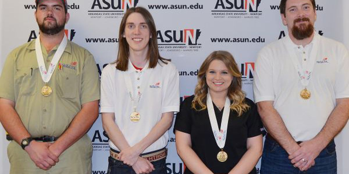 GR8 Job: ASUN students grab the gold at state competition