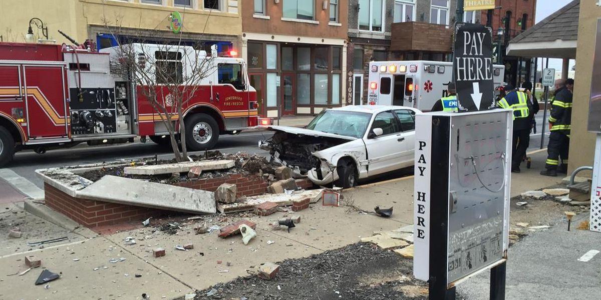 Update: Wrong-way crash snarls downtown traffic