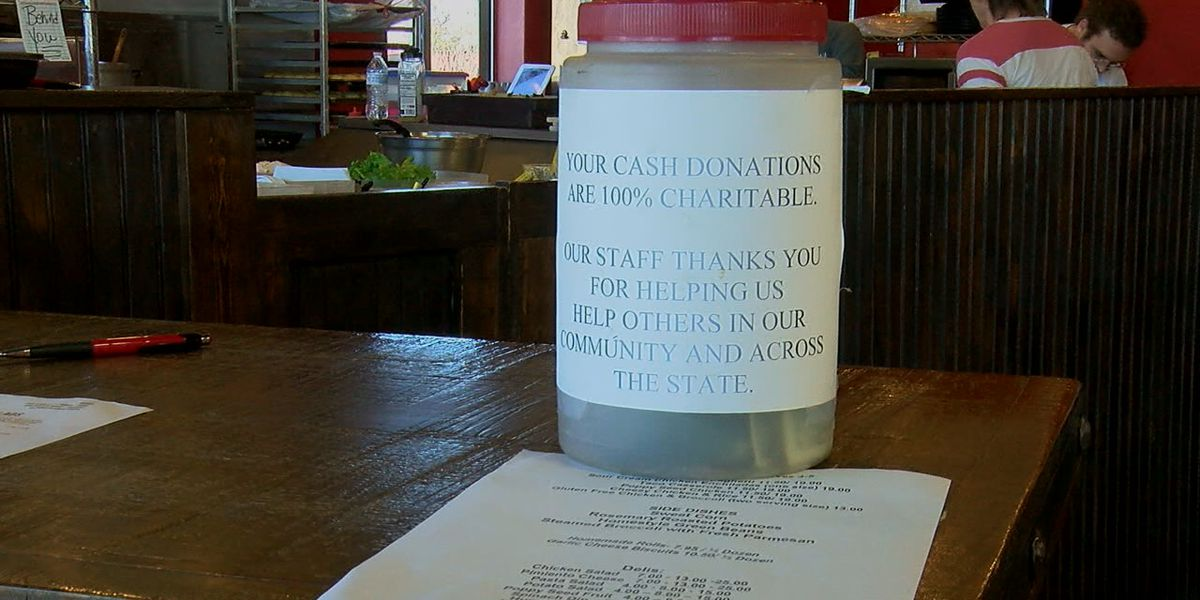 Restaurant donates to local organizations, families