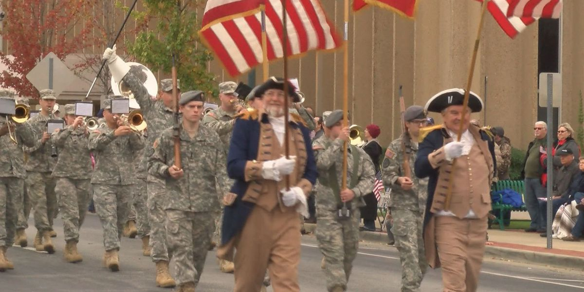 Residents honor armed forces at Veterans Day Parade