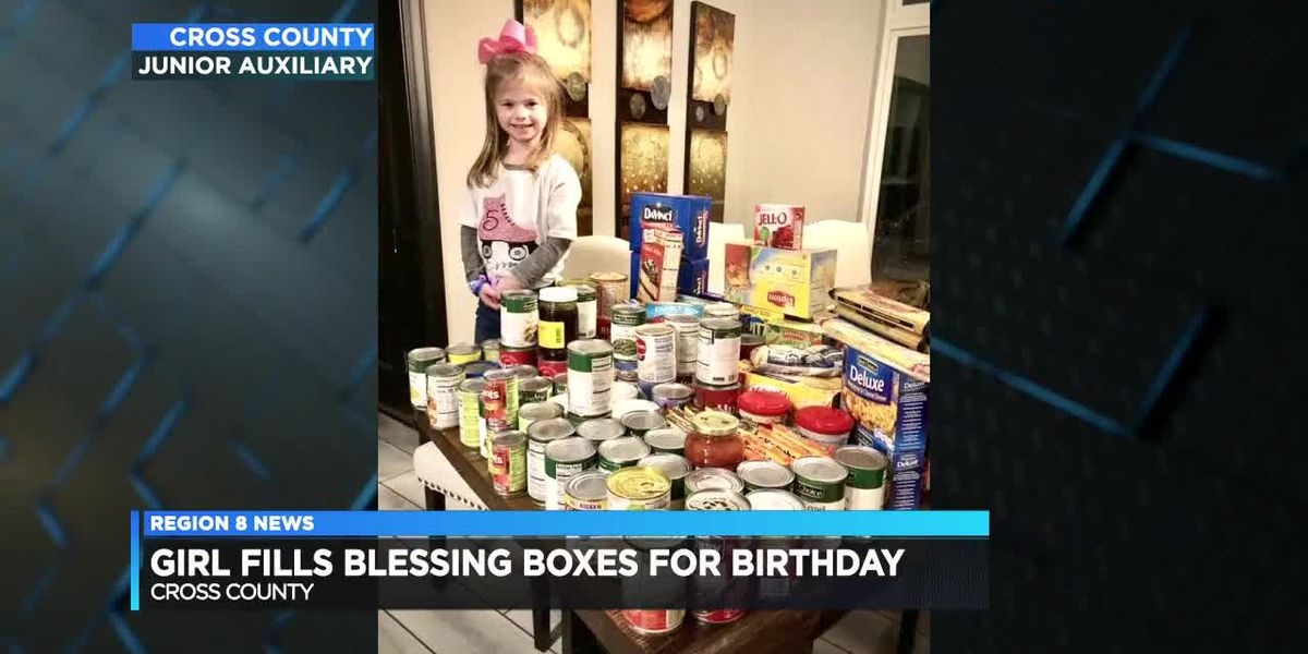 Cross county blessing box donation