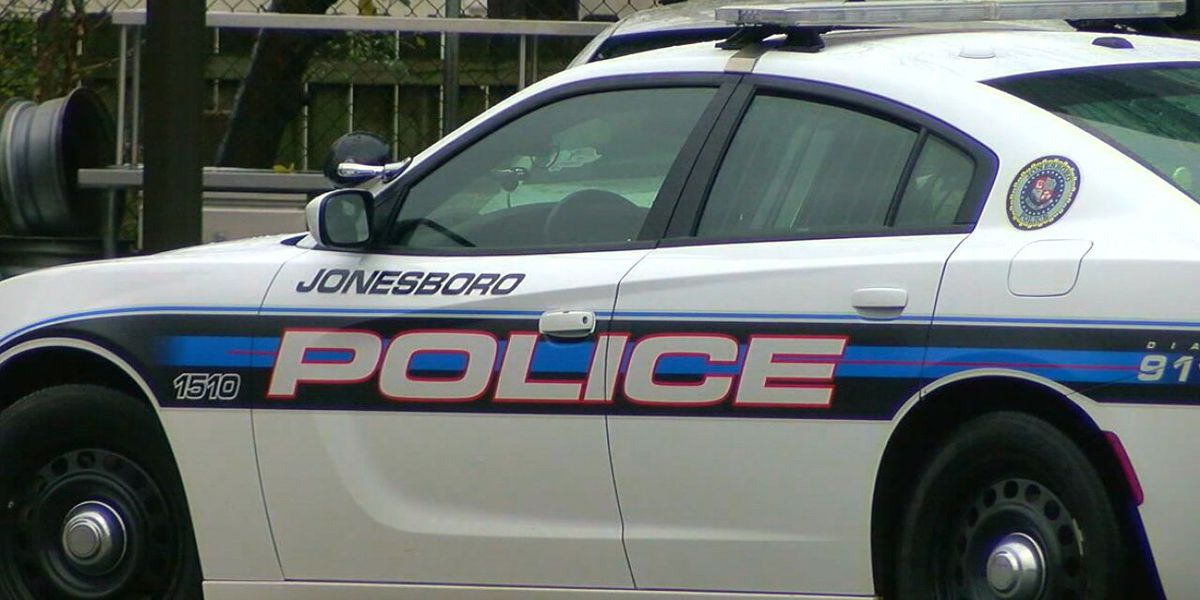 Crash involving Jonesboro police vehicle reported in front of police station Saturday