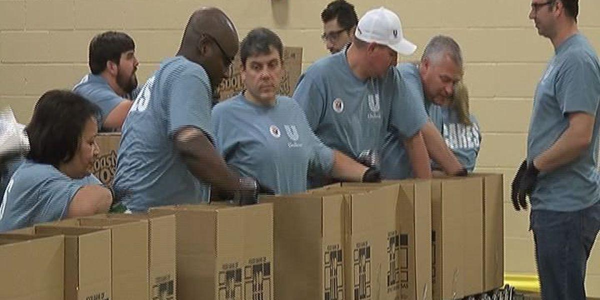 Jonesboro factory employees help end hunger in Region 8