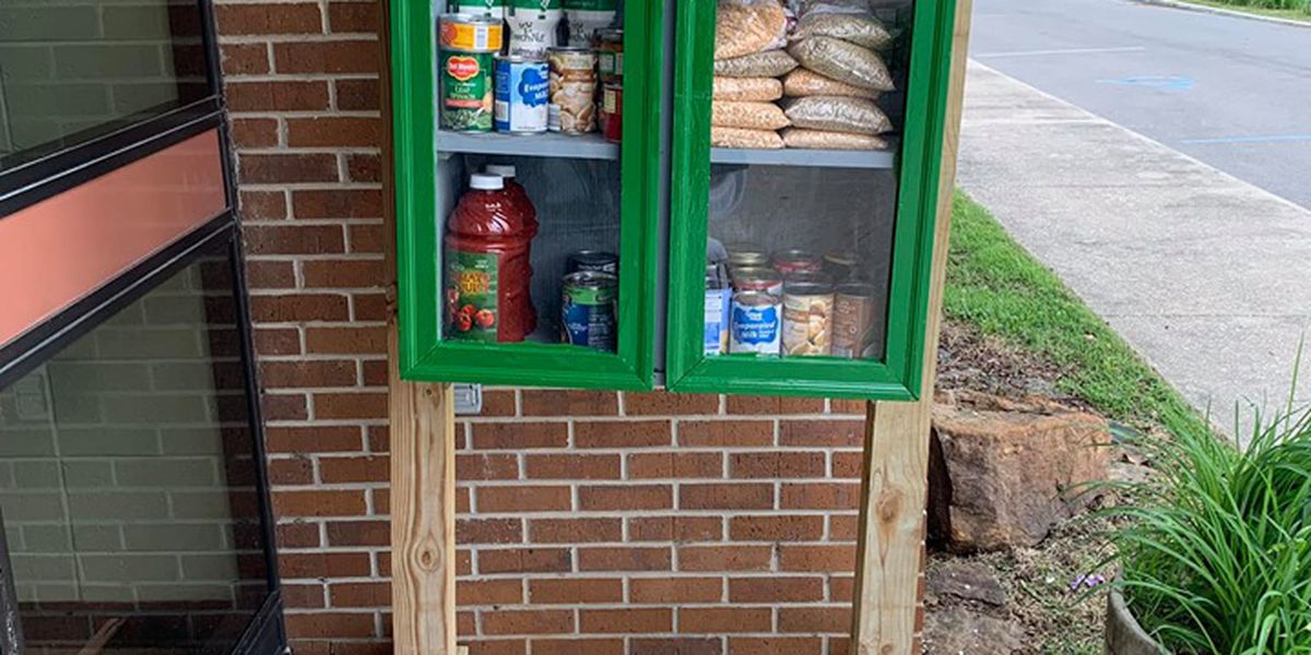 Blessing box restocked after vandalism in Malden, MO