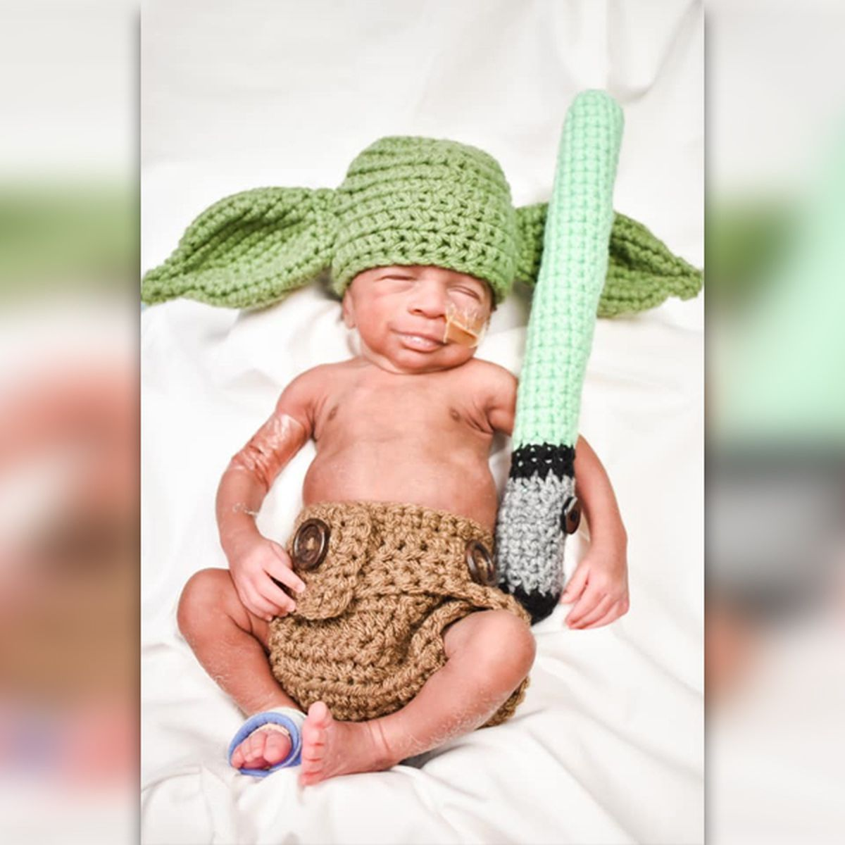 AWWW! NICU babies celebrate Halloween with hand-made costumes