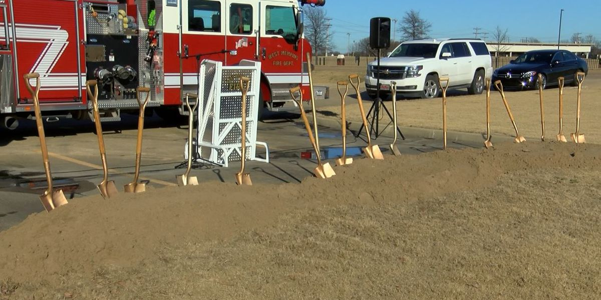 West Memphis city leaders break ground on new fire station