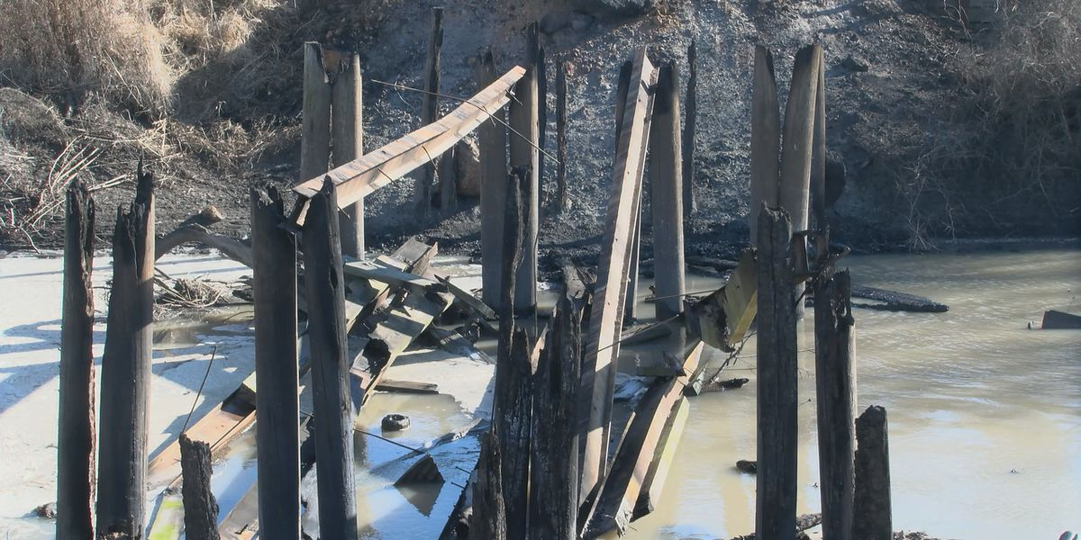 Officials continue to investigate leads on who burned Poinsett County bridge