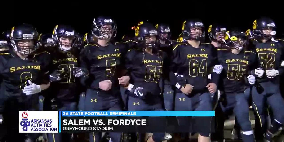 Salem falls to Fordyce 38-14 in 2A State Semifinals
