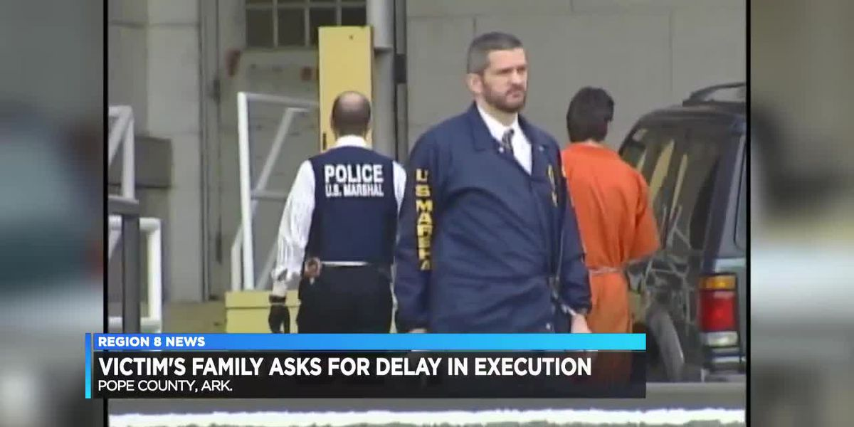 Victims' family asks for delay of federal inmate's execution