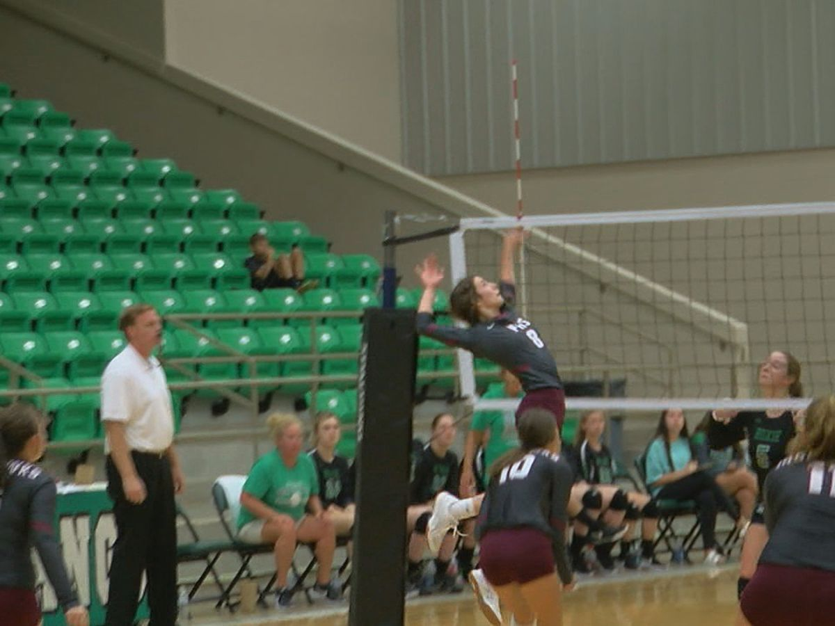 High School Volleyball Scoreboard 09/16