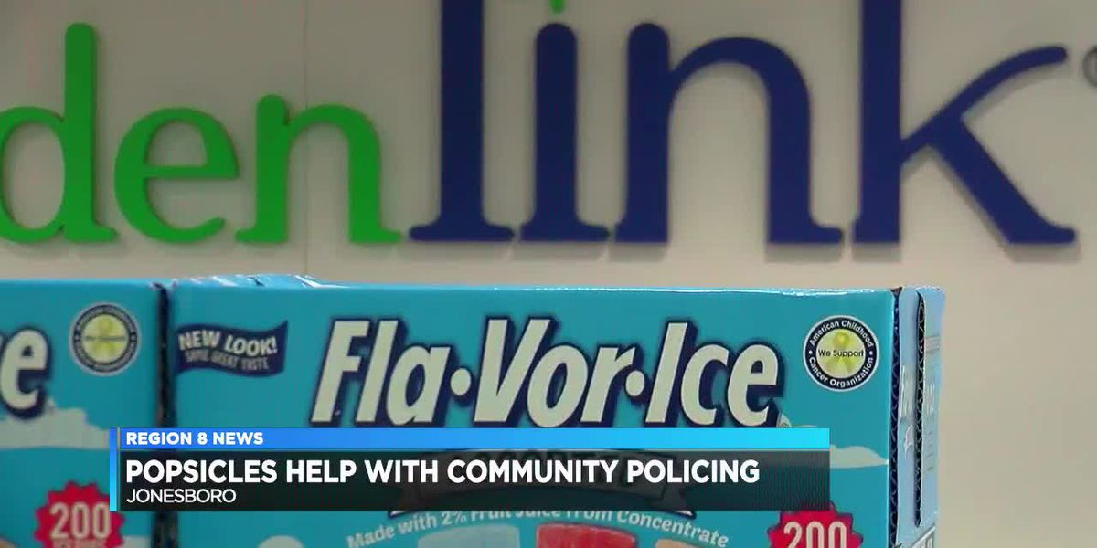 Popsicle drive benefits JPD community policing