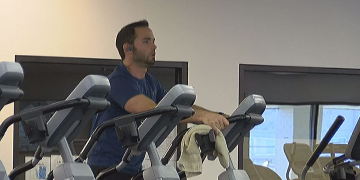 Residents hit the gym after Thanksgiving