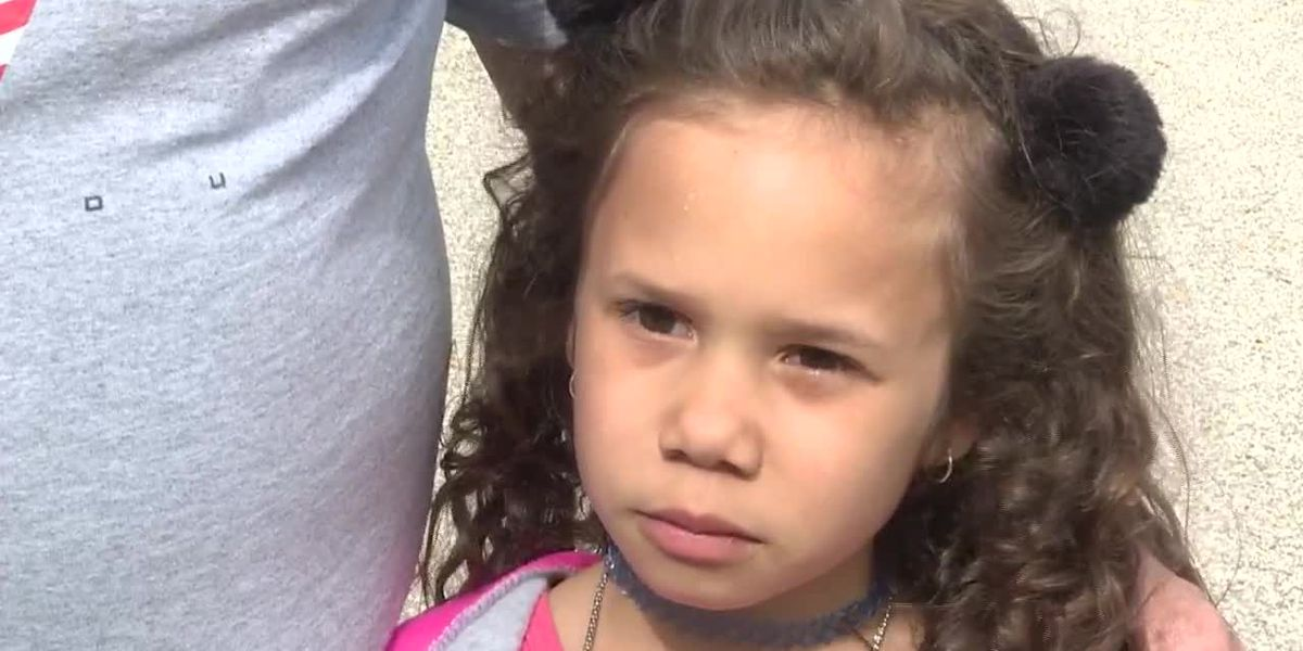 RAW: 6-year-old recalls 'lunch shaming' at Ind. elementary school