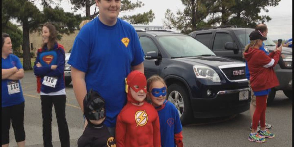 Region 8 superheroes fight cancer with 5K