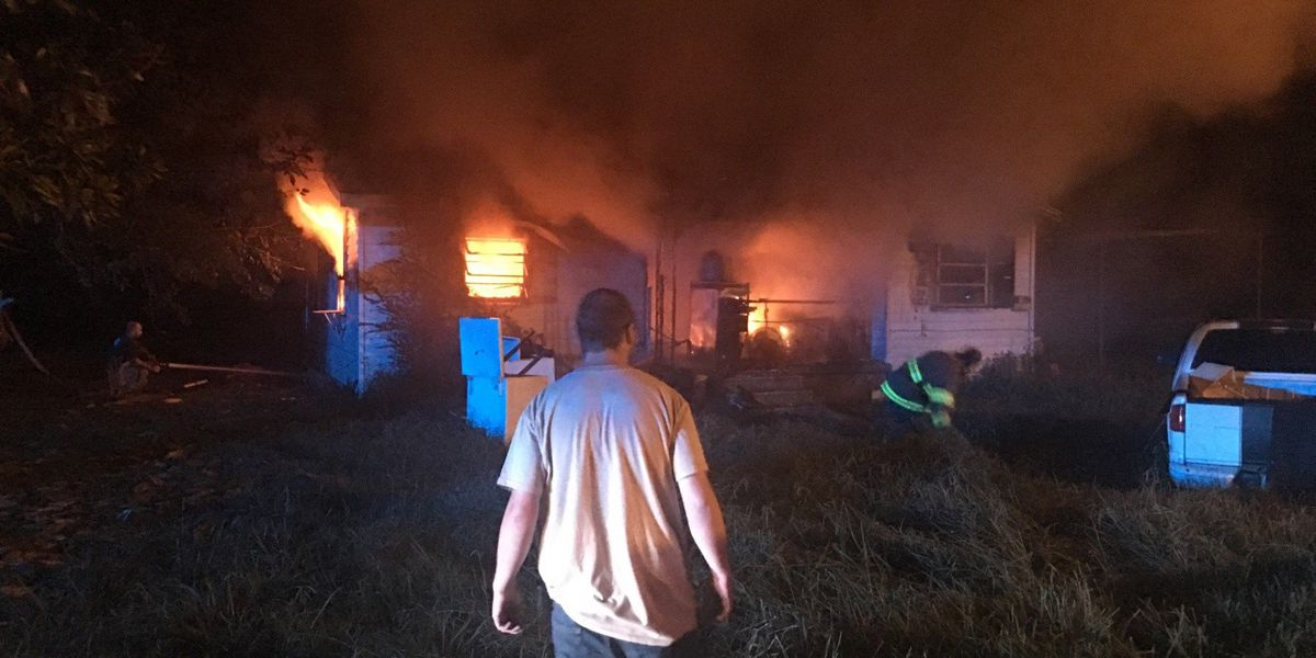 Crews battle fire at same home twice overnight