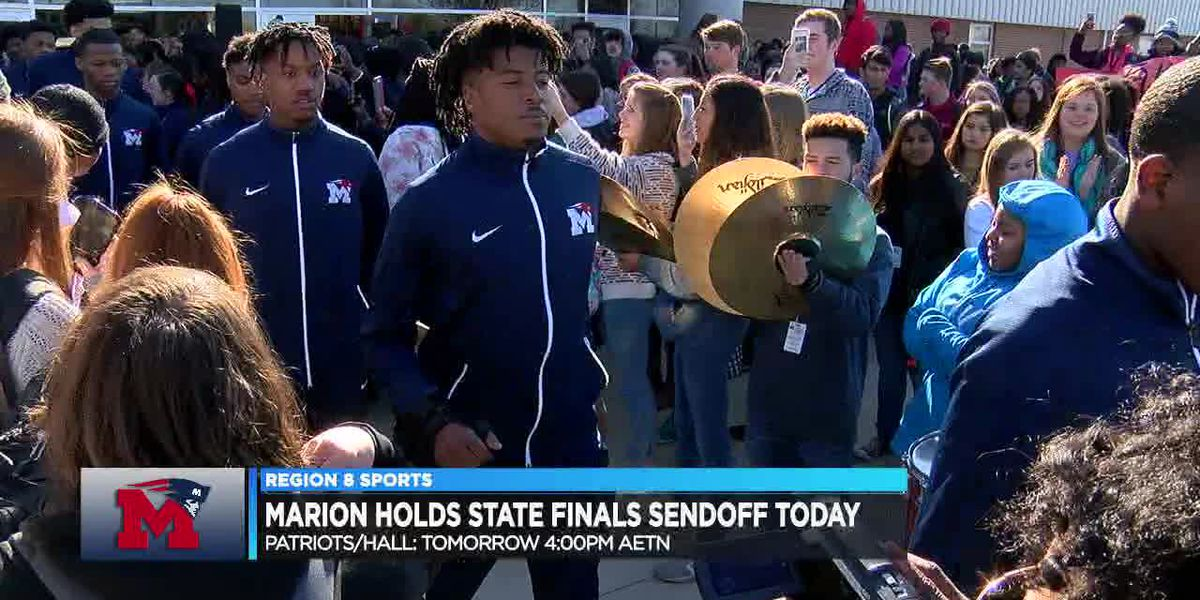 Marion holds sendoff Wednesday for 5A state finalists