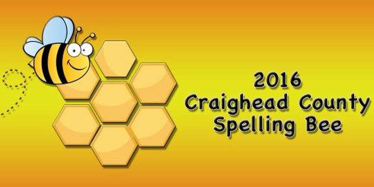 Craighead County Spelling Bee carried live online