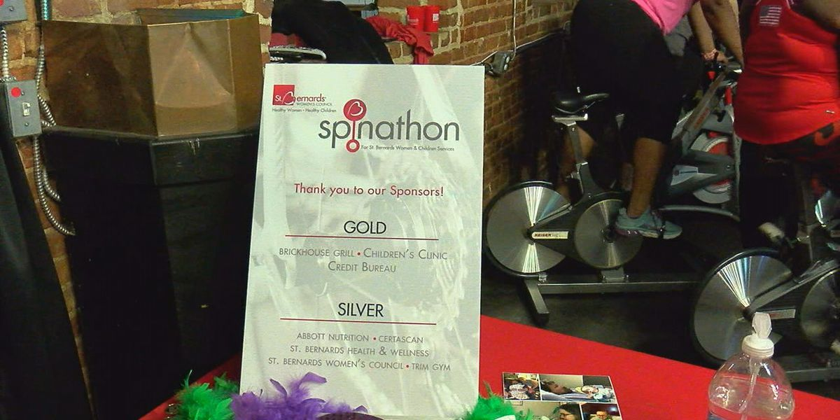 Spin-A-Thon benefits St. Bernards women's and children's services