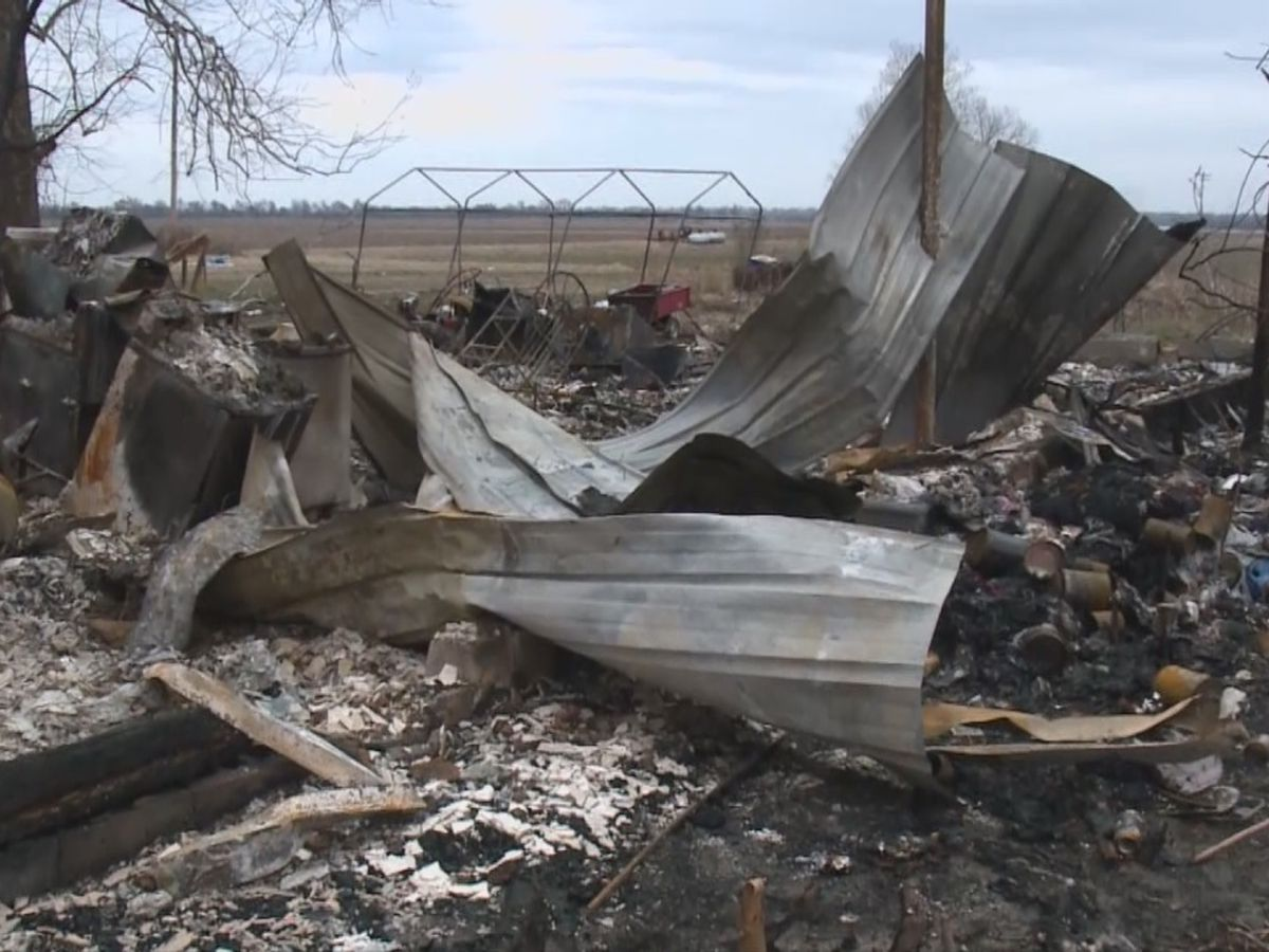 Family loses everything in fire, gets help from community