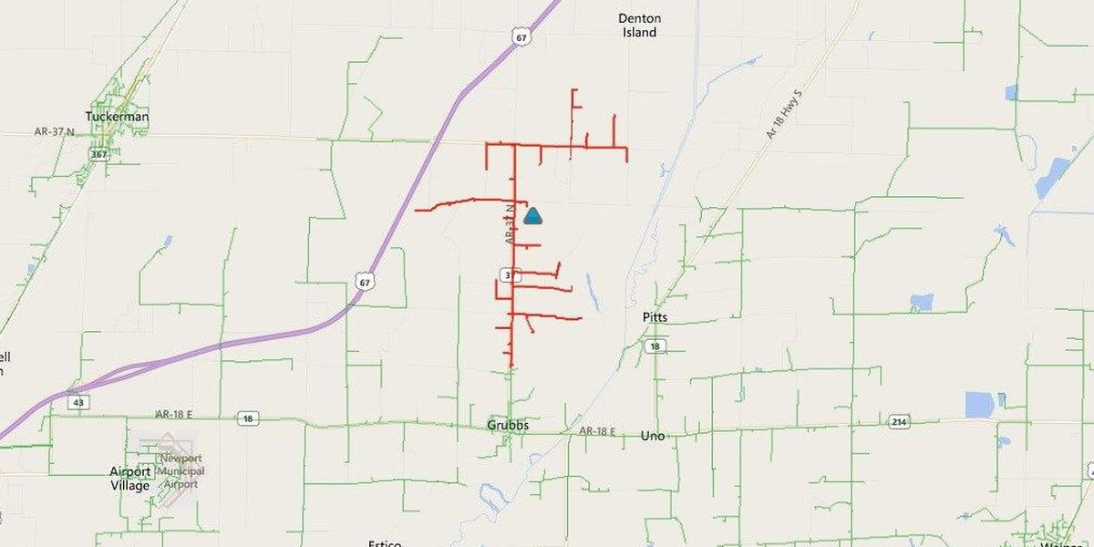 Power outages, more wintry precipitation in Region 8. Info. now on GMR8