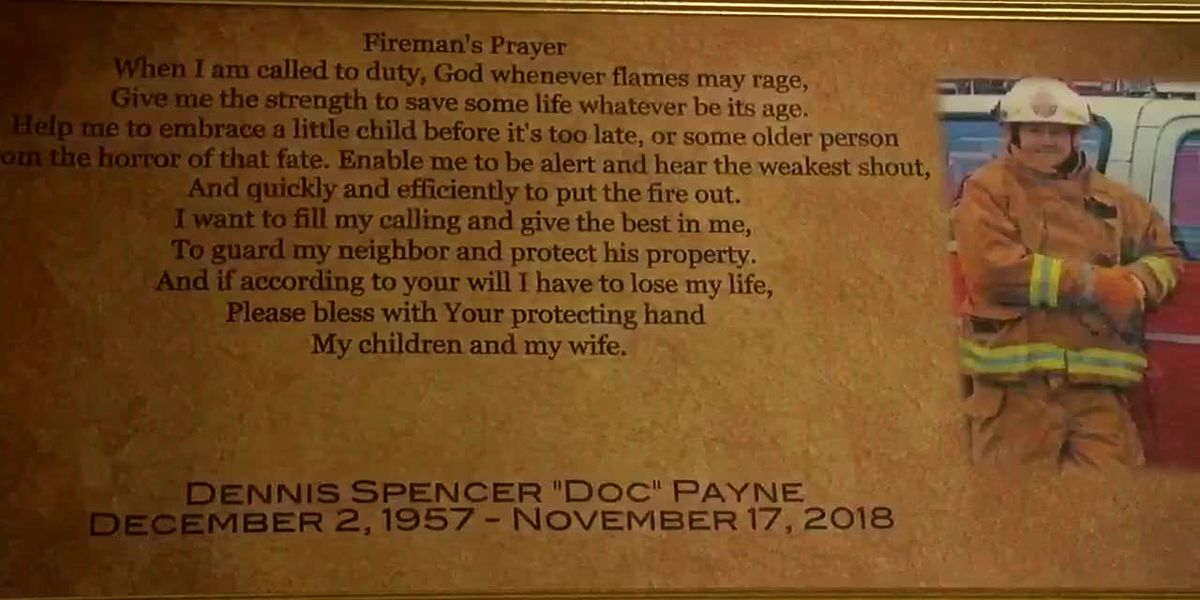 Former Marmaduke Fire Chief laid to rest