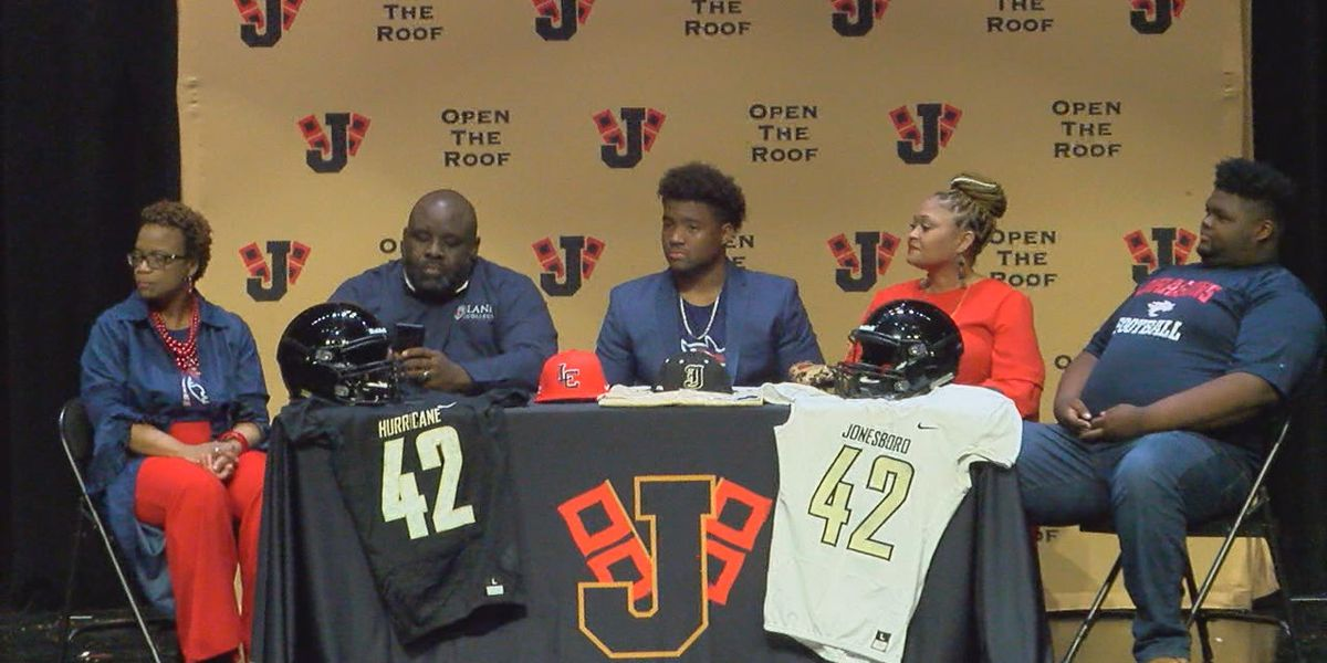 Jonesboro football trio sign letters of intent