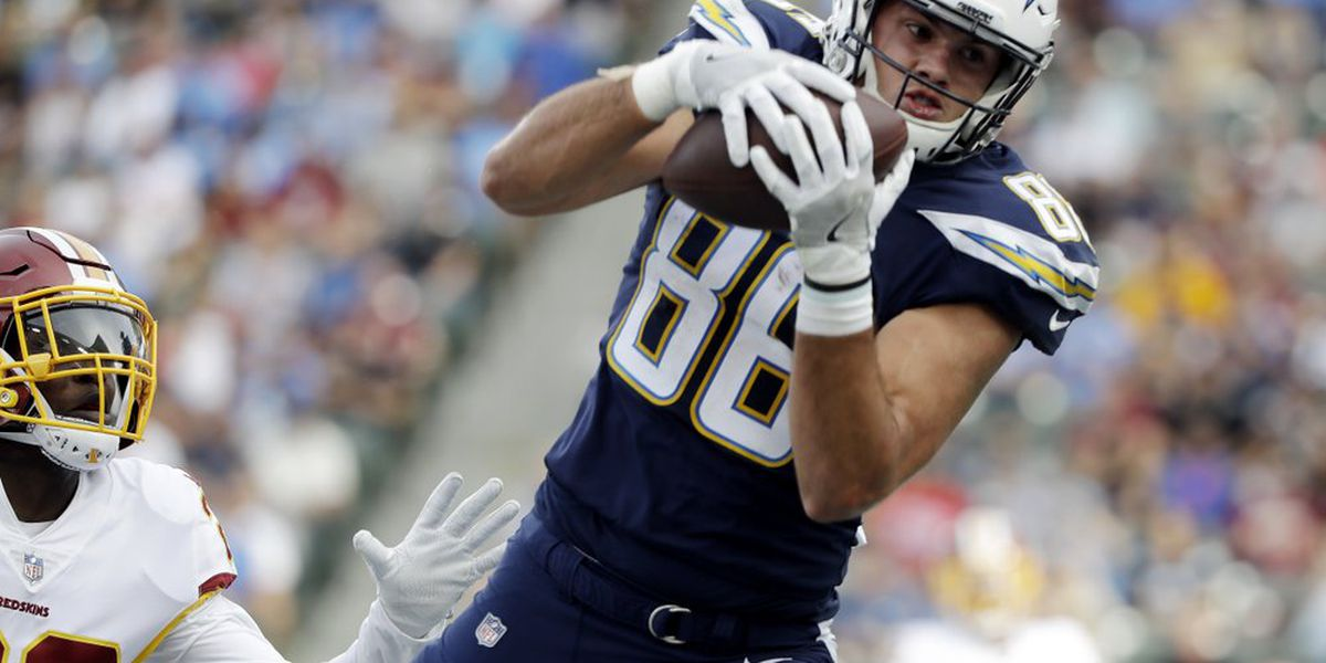 Chargers place franchise tag on Razorback alum Hunter Henry