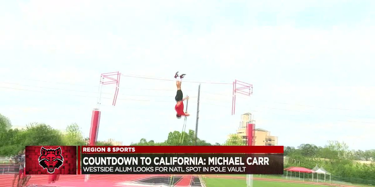 Countdown to California: Arkansas State senior Michael Carr returns to NCAA West Prelims