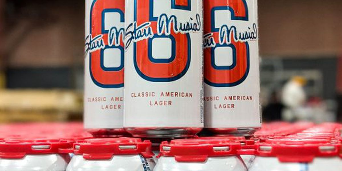 Get your #6 classic lager honoring Stan Musial starting March 16