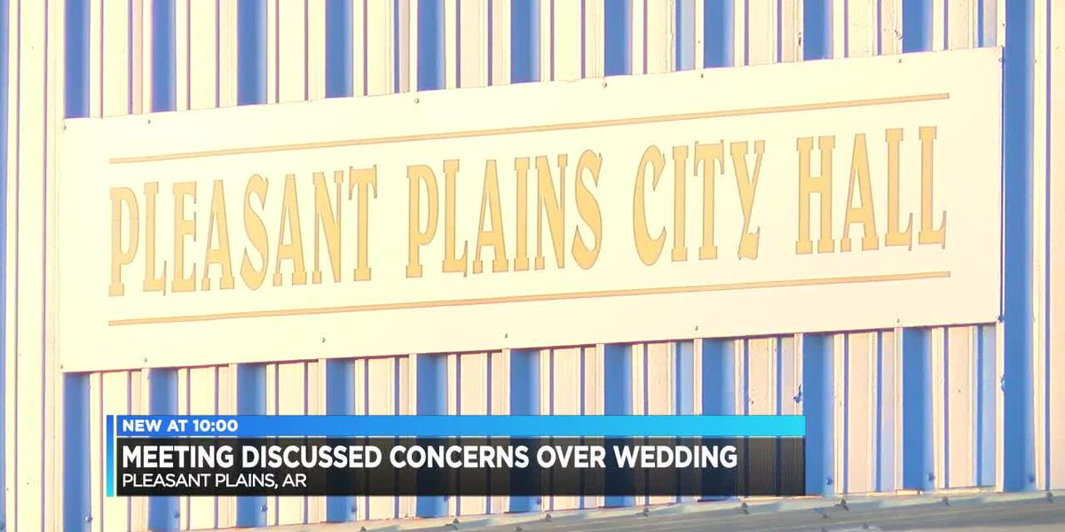 Pleasant Plains discusses 'use of community center' after same-sex couple weds