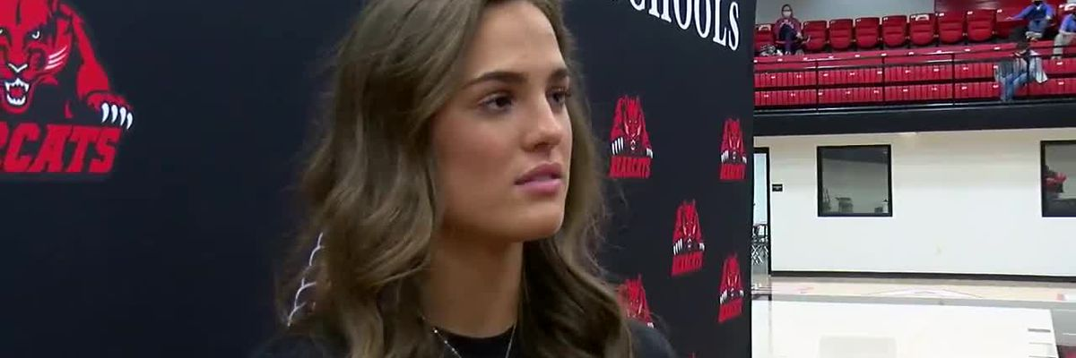 Red Wolves Raw: Brookland's Anna Joy Allen signs with Arkansas State Track & Field