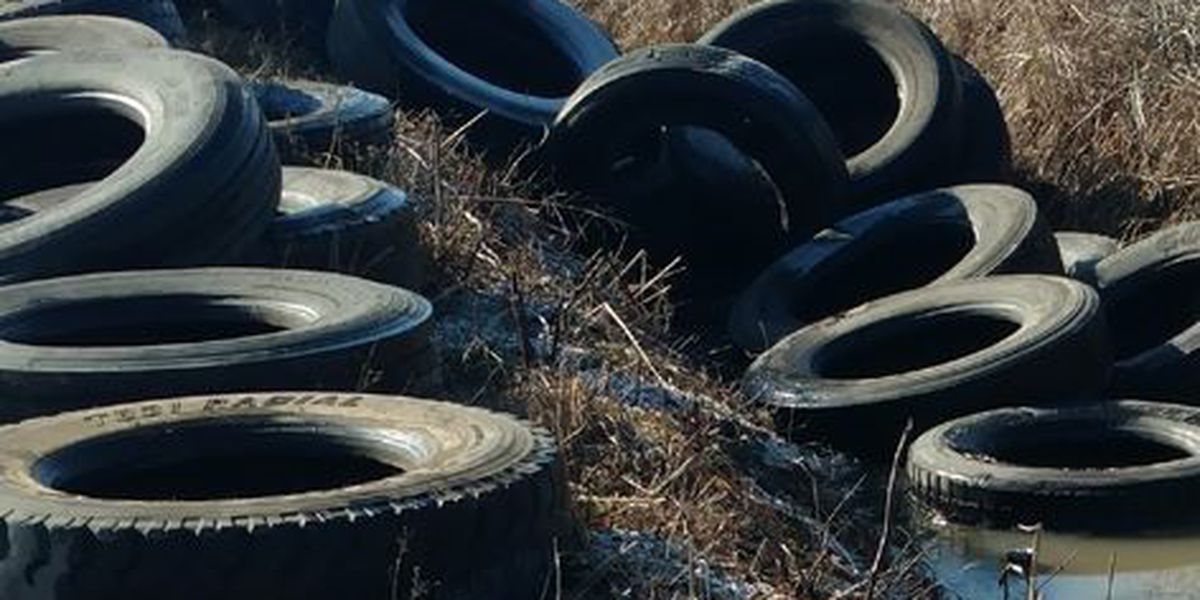 Tire dump site discovered in rural Poinsett County