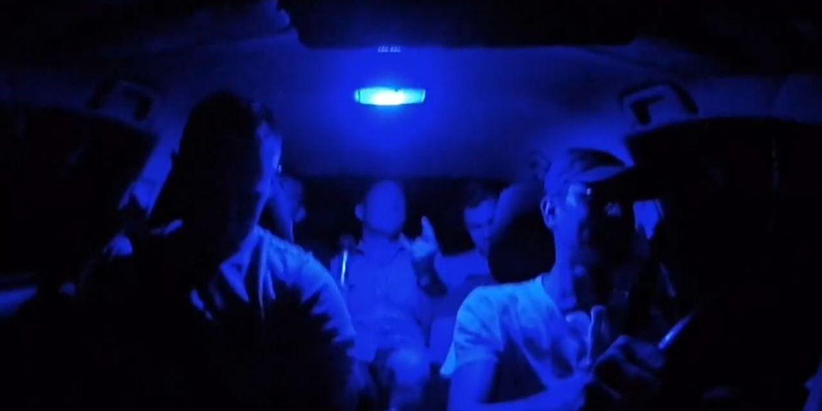 Uber driver uses karaoke, cameras to brighten up ride