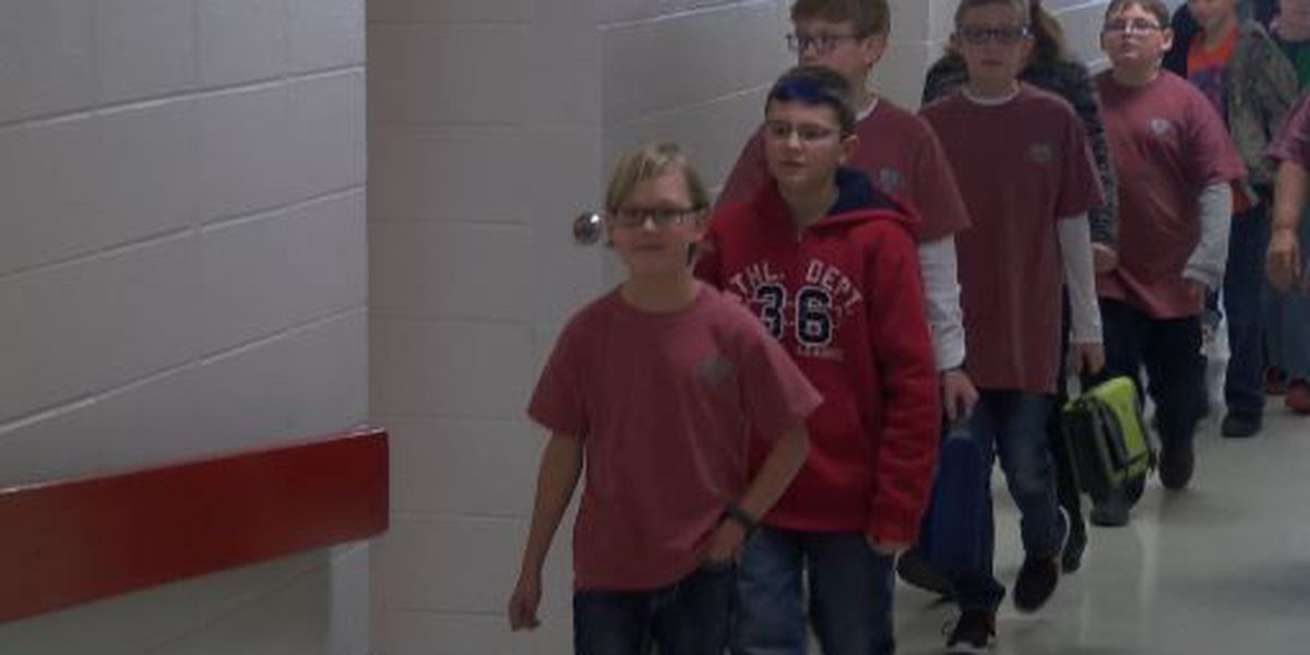Brookland shows support for classmate by wearing red