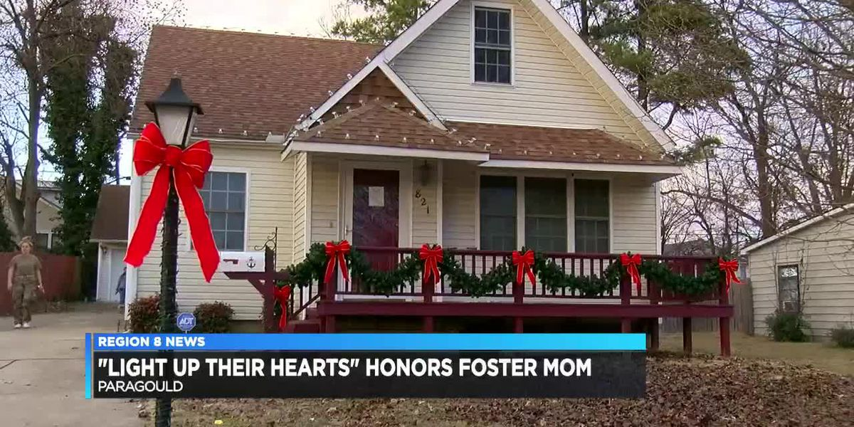 """""""Light Up Their Hearts"""" honors foster mother"""