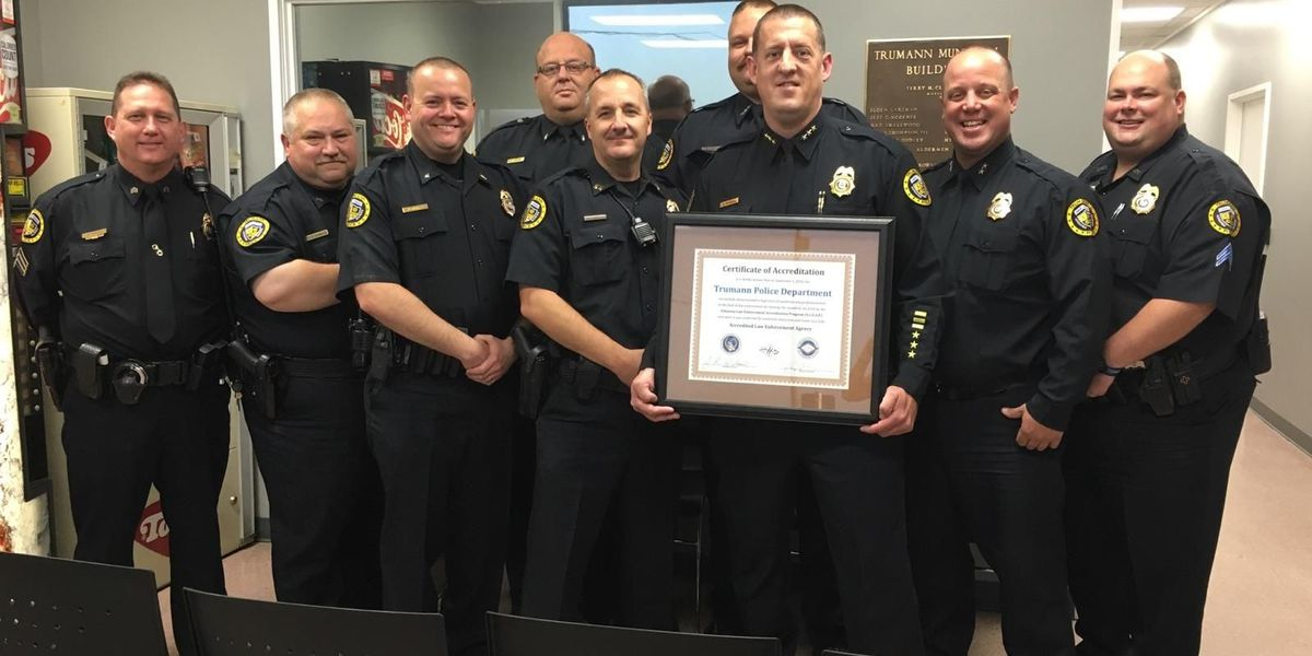 Trumann Police Department honored