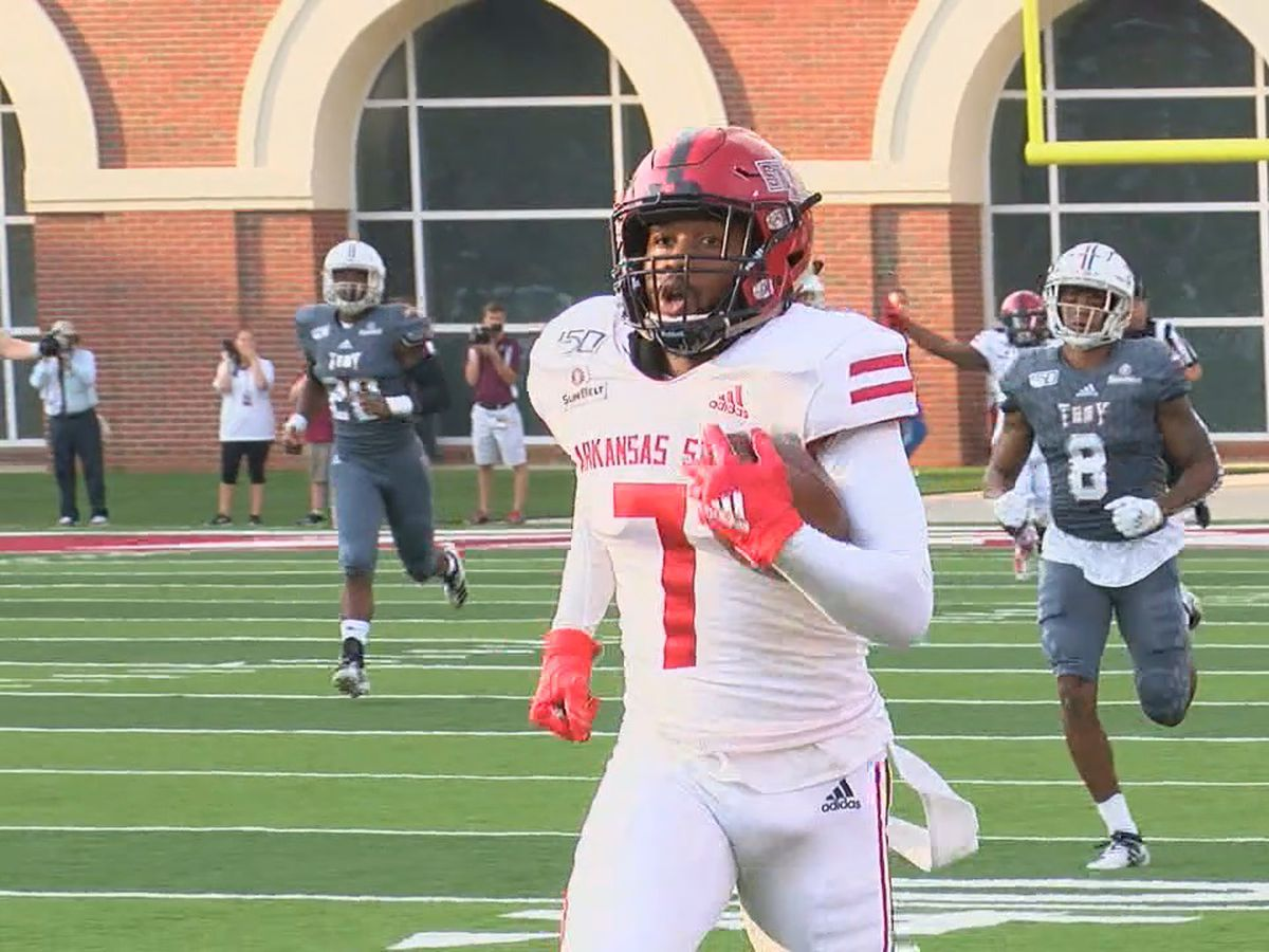 Arkansas State WR Omar Bayless selected to Walter Camp All-American 2nd Team