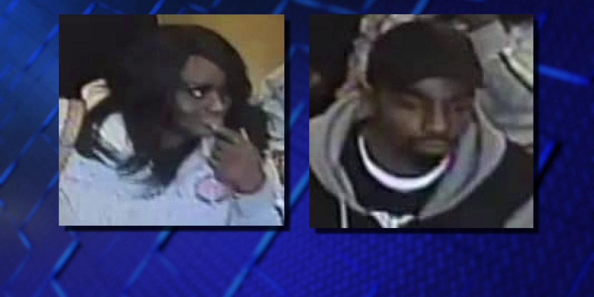 Couple robs elderly woman of her groceries