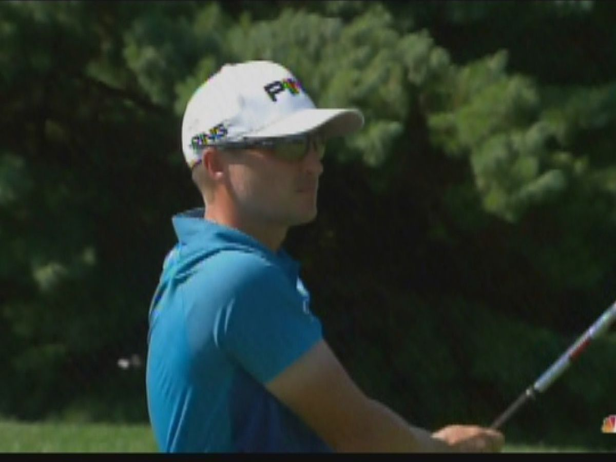 Cook tied for 3rd after Saturday performance at Barbasol Championship