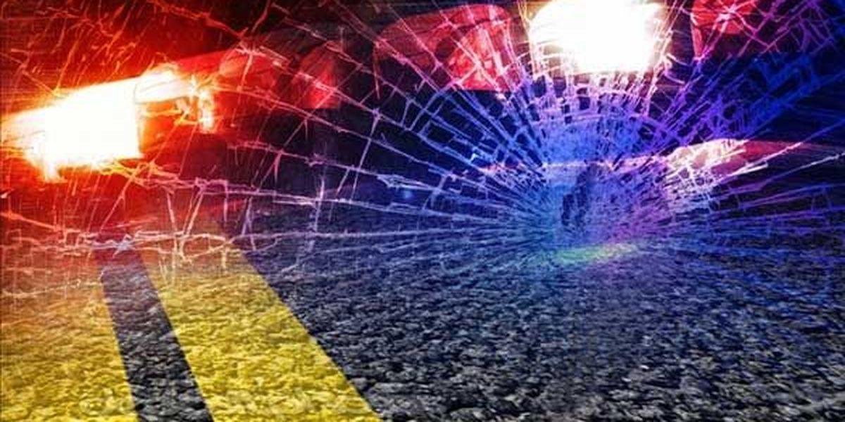 Driver arrested after crash sends 2 to hospital
