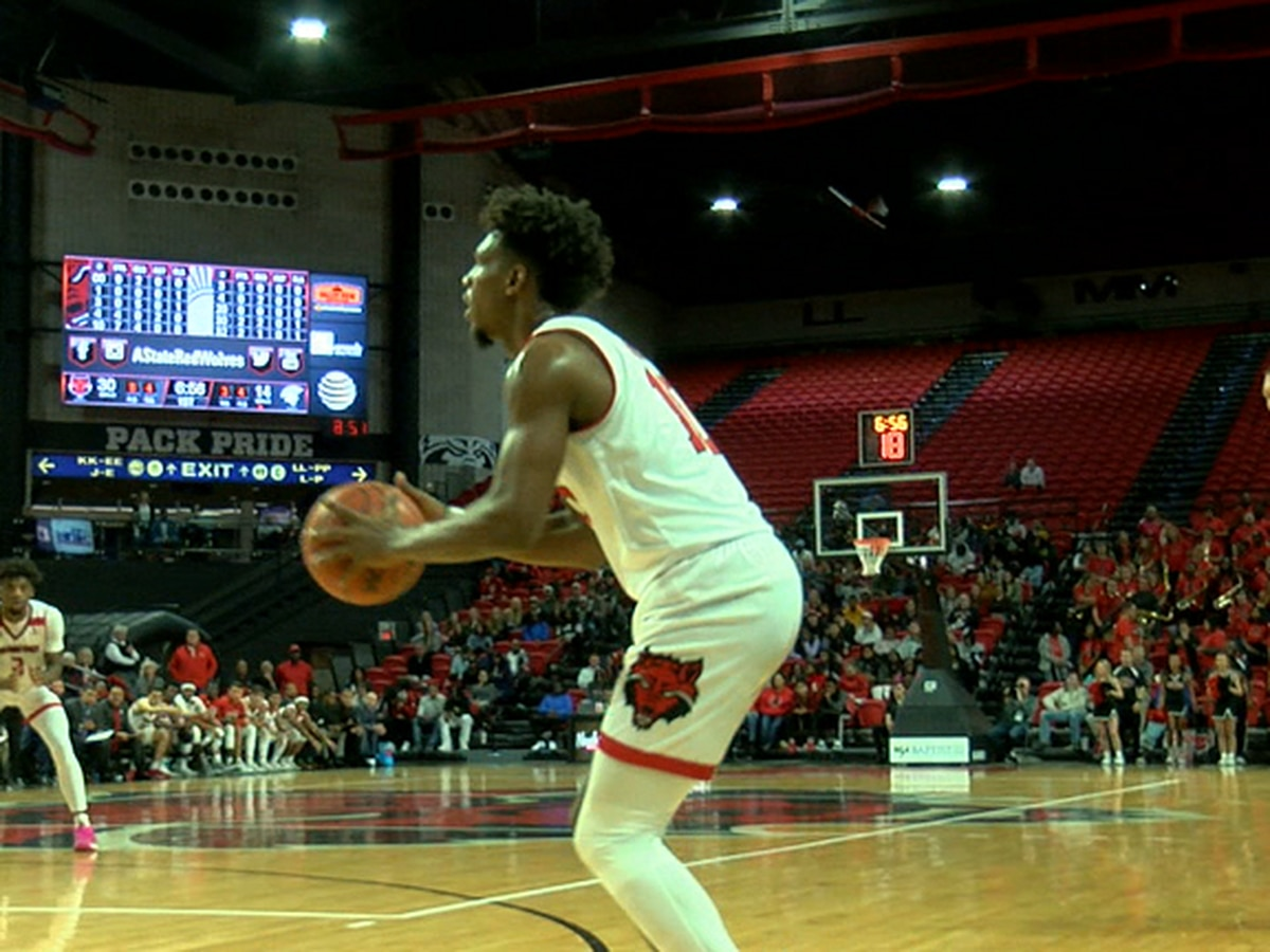 Grantham Gillard has 22 pts as A-State Men rout Missouri Baptist